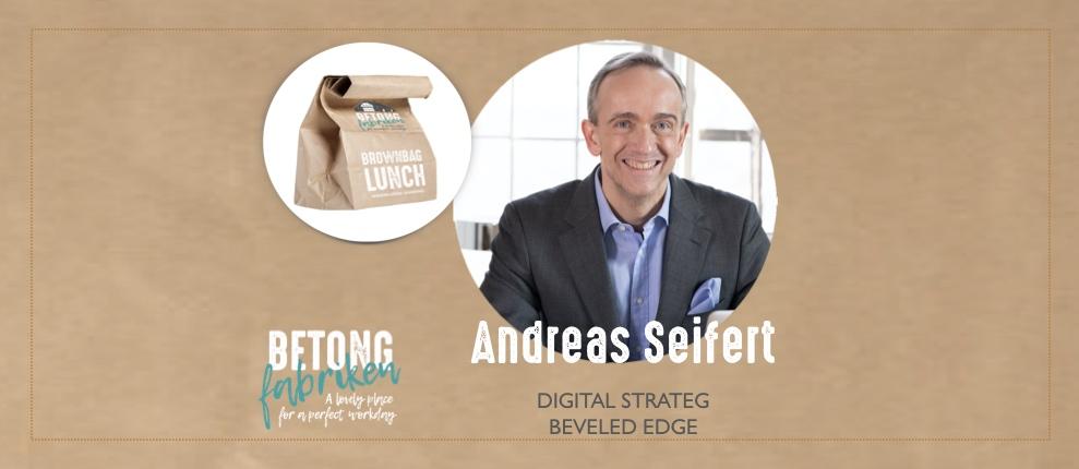 BrownBagLunch Andreas Seifert
